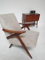 vintage design fauteuil scandinavische deense stijl