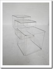 Max Sauze nesting tables model Isocele