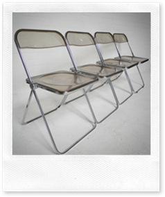 design klapstoelen Plia Castelli, design chairs Plia Castelli