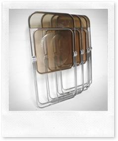 Plia klapstoel Castelli, folding chair Plia 60's Castelli
