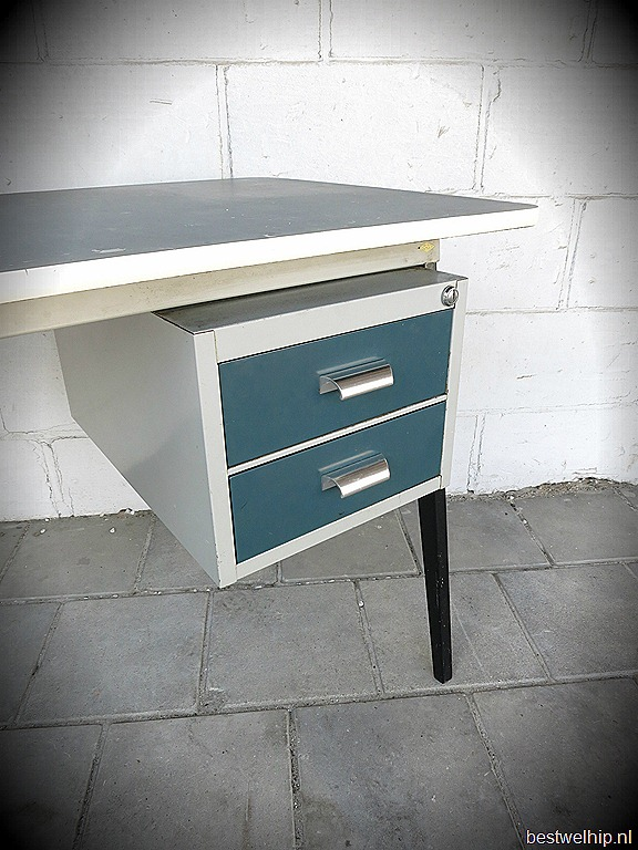 industrial vintage desk drentea dutch design bestwelhip