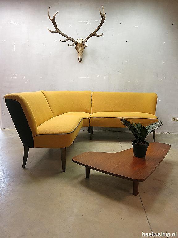 Fifties Mid Century Vintage Design Cocktail Bank Zithoek